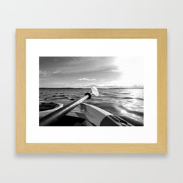 Paddle the Salish Sea Framed Art Print