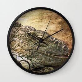 Leguan Wall Clock