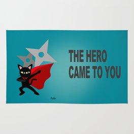The hero came Rug