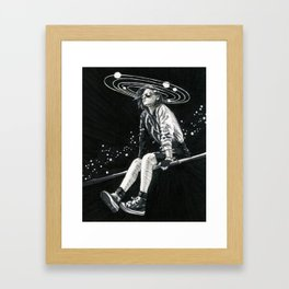 Spacing Out Framed Art Print