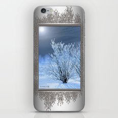 Hoar Frost on the Lilac Bush iPhone & iPod Skin