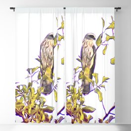 Mississippi Kite in Tree Blackout Curtain