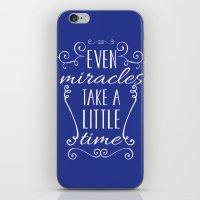 cinderella iPhone & iPod Skins featuring Cinderella by Nikita Gill
