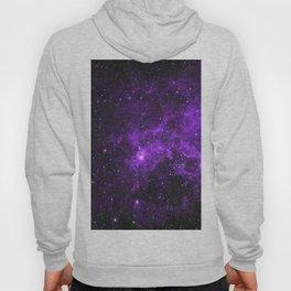 Ultraviolet Space Nebula Hoody