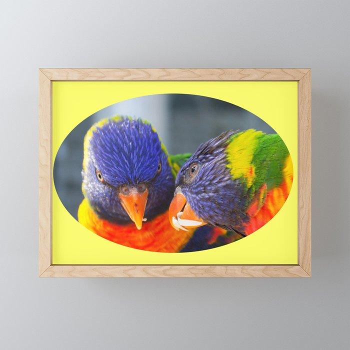 Feed me !! Framed Mini Art Print