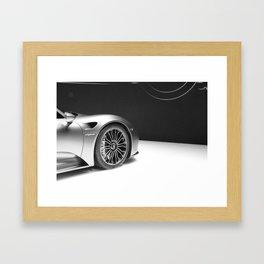More Speed Framed Art Print