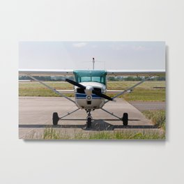 Cessna light aircraft Metal Print