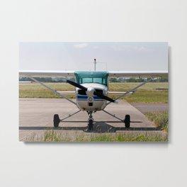 Cessna light aircraft Metal Print