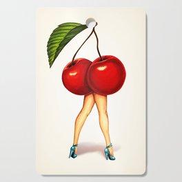 Cherry Girl Cutting Board
