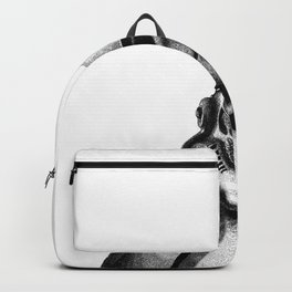 Stormtrooper Hand Drawn Dotwork - StarWars Pointillism Artwork Backpack