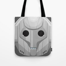 Cyberman - Doctor Who Tote Bag