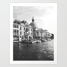 Nostalgic Venice Art Print