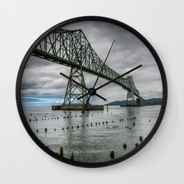 Astoria - Megler Bridge Wall Clock