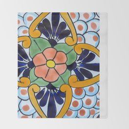 Talavera Nine Throw Blanket