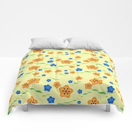Floral-007 Comforters