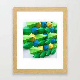 Forest Eye View Framed Art Print