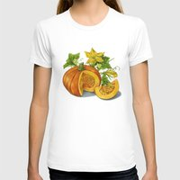 pumpkin T-shirts featuring Pumpkin by ElenaTerrin