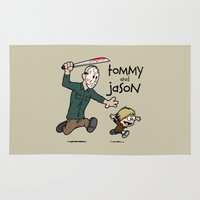 Tommy and Jason Rug
