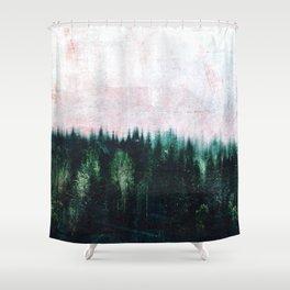 Deep dark forests Shower Curtain