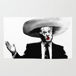 Sad Clown (Donald Trump) Rug