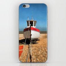 Dungeness Fishing Boat iPhone & iPod Skin
