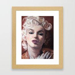 Goodbye Norma Framed Art Print