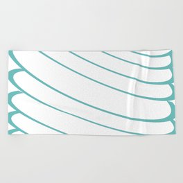 CIRCLE CIRCLE CIRCLE Beach Towel