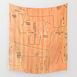 Khaki Bodices Wall Tapestry
