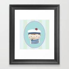ship's boy Framed Art Print