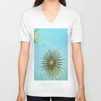 transparent V-neck T-shirts featuring Transparent-Sea by Bella Blue Photography