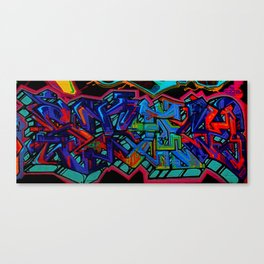 Graffiti Downtown ATL Canvas Print