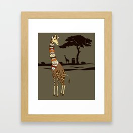 Dr Who is a What? Framed Art Print