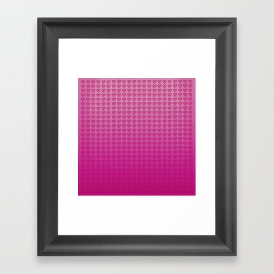 I Heart You. Framed Art Print