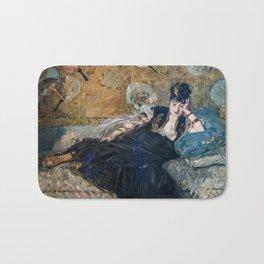 Edouard Manet - Lady with Fans Bath Mat