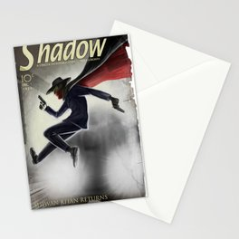The Shadow Knows Stationery Cards