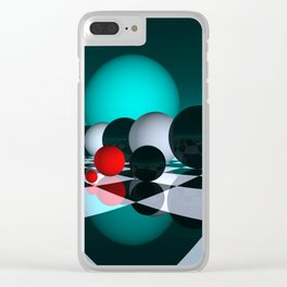 3 colors for your wall -6- Clear iPhone Case
