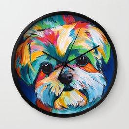 Orion the Shih Tzu Wall Clock
