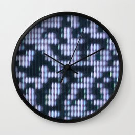 Painted Attenuation 1.2.4 Wall Clock