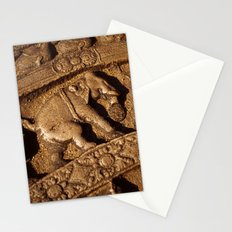 Stone Elephants Stationery Cards