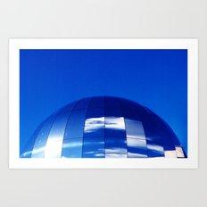 The Blue Planet Art Print