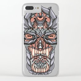 God Clear iPhone Case