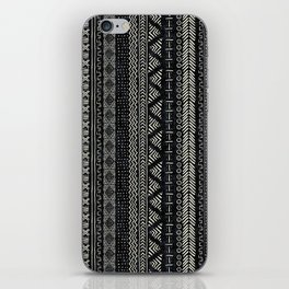 Mud Cloth Stripe iPhone Skin