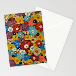 Mixed Flowers Stationery Cards
