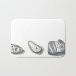 Three Rock Portraits Bath Mat