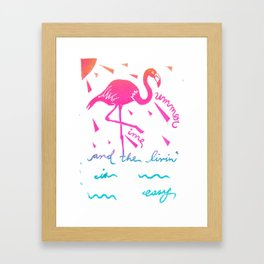 Summertime Framed Art Print