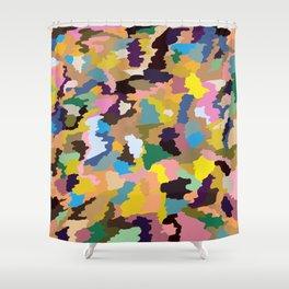 Heikado - Modern Camouflage Pattern Shower Curtain