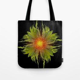 The Fireflower Swirl Tote Bag
