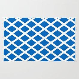 flag of scotland 2– scotland,scot,scottish,Glasgow,Edinburgh,Aberdeen,dundee,uk,cletic,celts,Gaelic Rug
