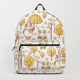 Pandas and ginkgo Backpack