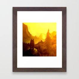 Wide World Framed Art Print
